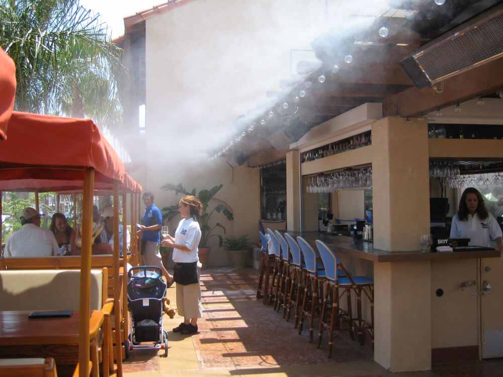 Restaurant Misting Systems Koolfog