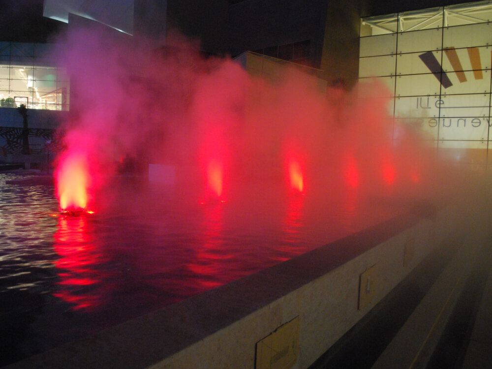 Fountain Fog Effects Koolfog Fog Systems