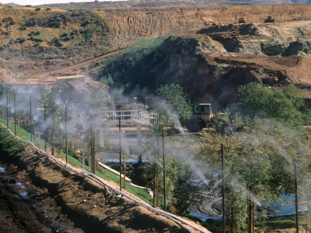 Misting Dust Control Solutions California Koolfog