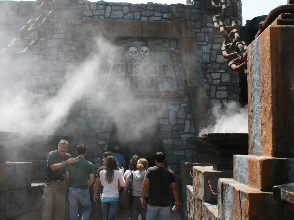Theme Park Misting Systems Koolfog