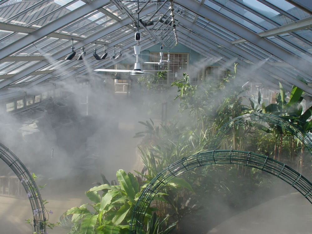 Greenhouse Misting Systems Koolfog