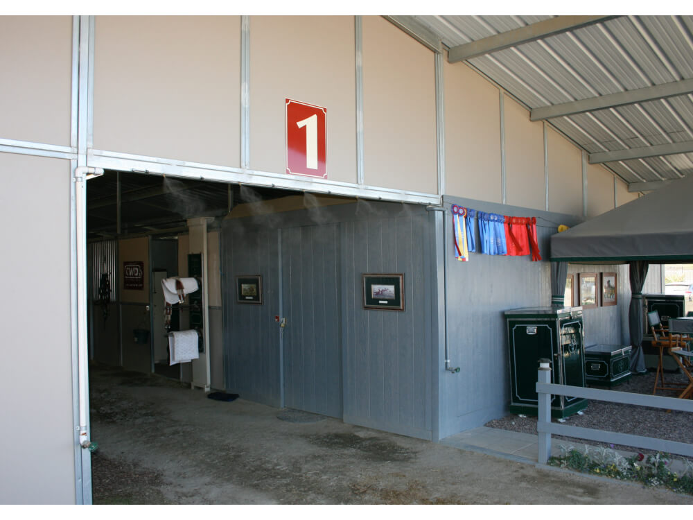 Cooling Horses and Stables | Koolfog