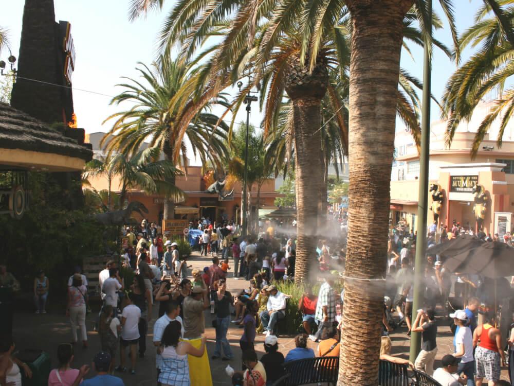 Theme Park Misting Systems Koolfog