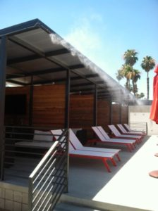 Resort and Hotel Misting Systems