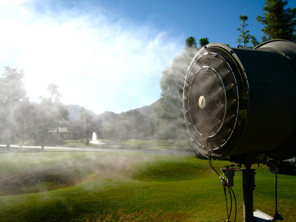 Golf Club Misting Systems Koolfog