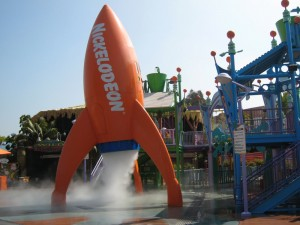 water play features