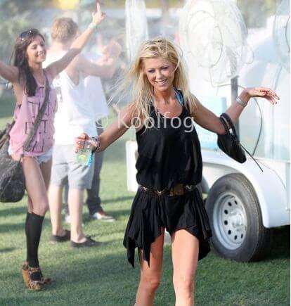 Tara Reid at Coachella