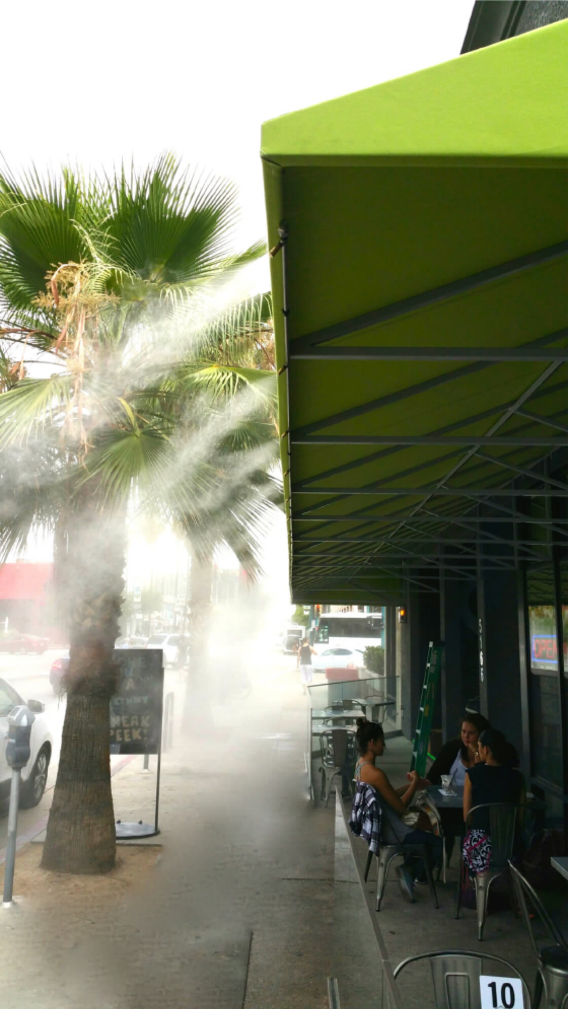 Restaurant Misting Systems Koolfog