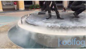 Fountain Fog Effects