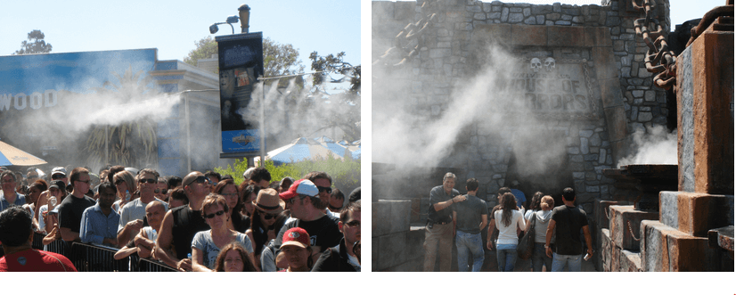 misting cooling solutions