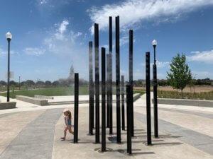 Playground Misting Poles