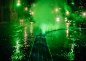 Fog effects Dilworth Park